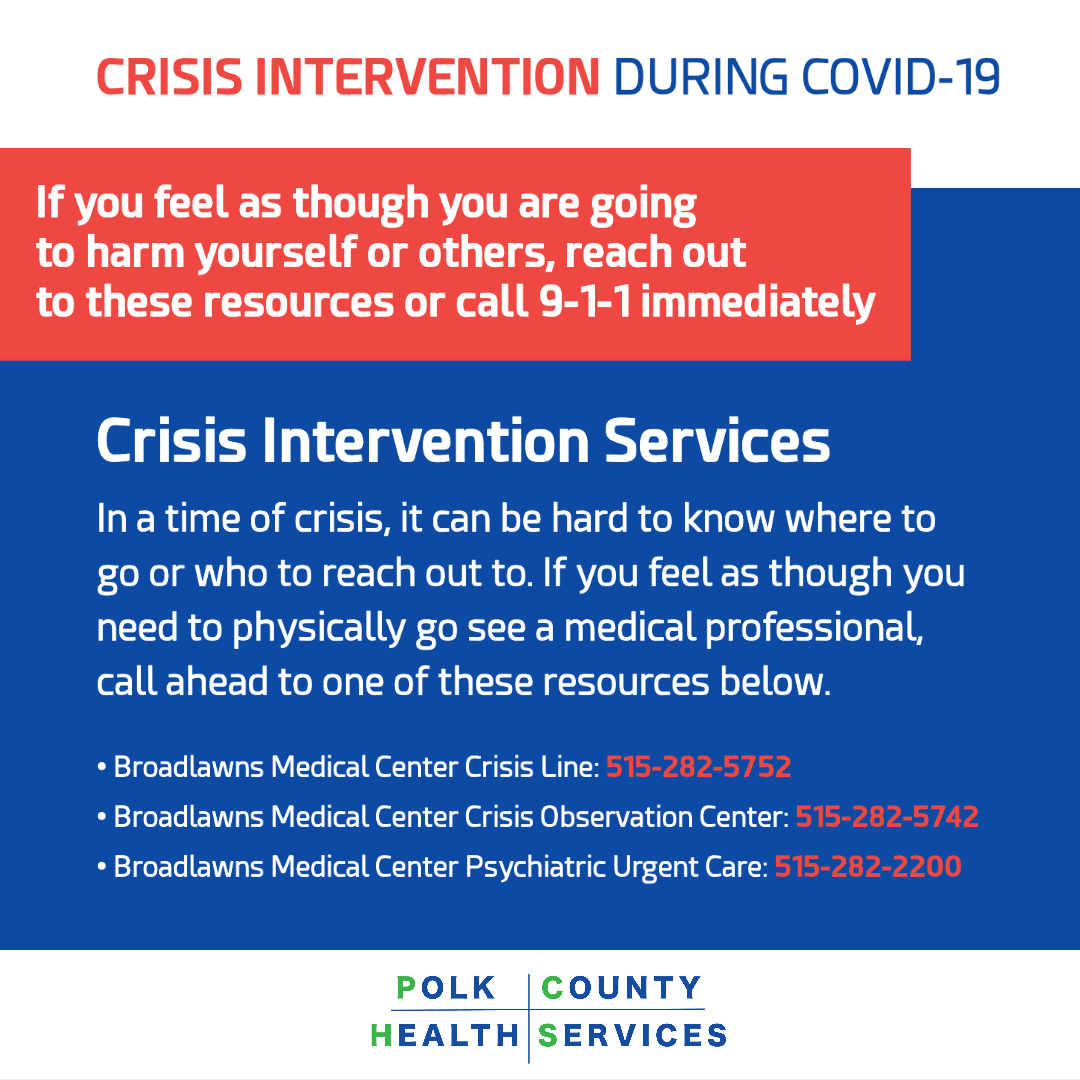 In-Person Crisis Resources